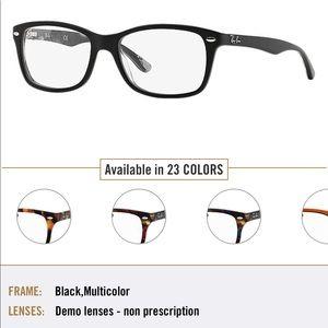 Black Ray Ban eyeglass frames